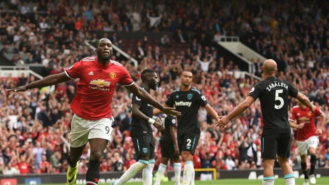 Romelu Lukaku Scores On His Premier League Debut Manchester United