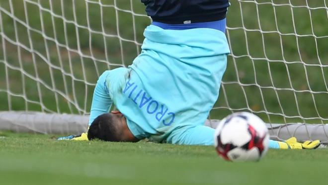 Danijel Subasic Croatian Goalkeeper Fail