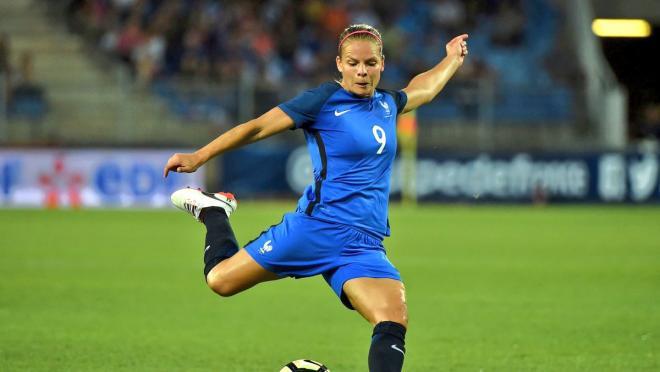 Eugenie Le Sommer goal