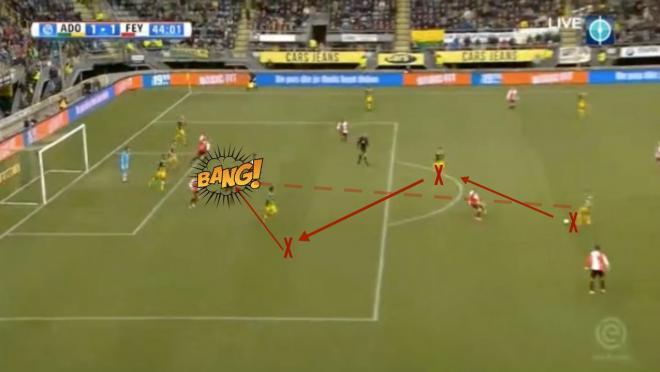 Aaron Meijers goal Den Haag