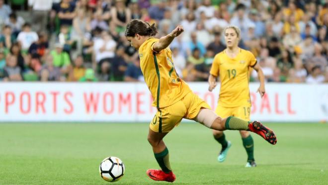 Sam Kerr goal vs China