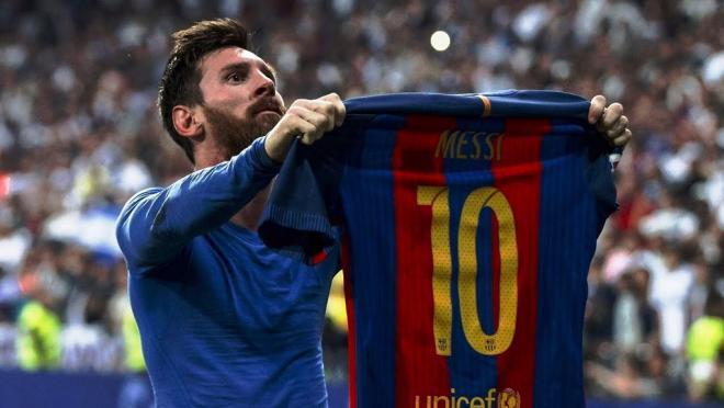 Lionel Messi El Clasico April 2017