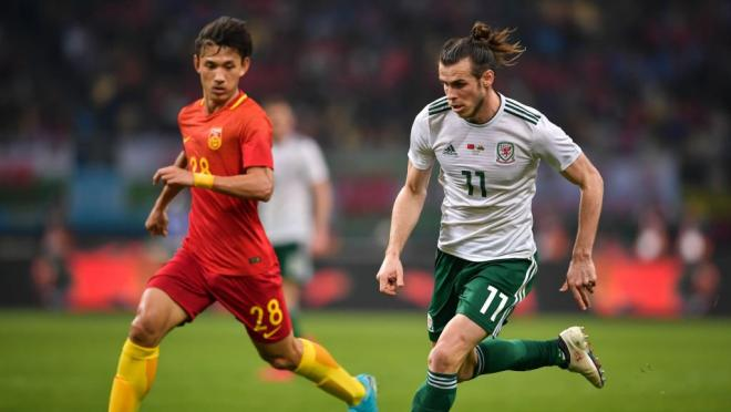 Gareth Bale Hat-Trick vs China