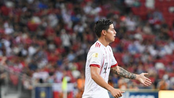 James Rodriguez Free Kick Goal