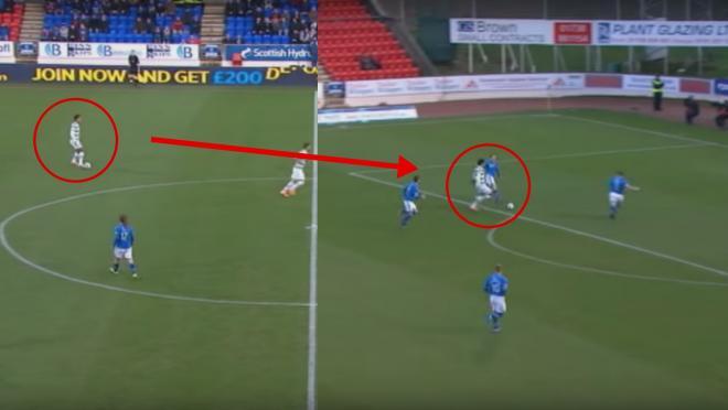 Virgil van Dijk Celtic Goal