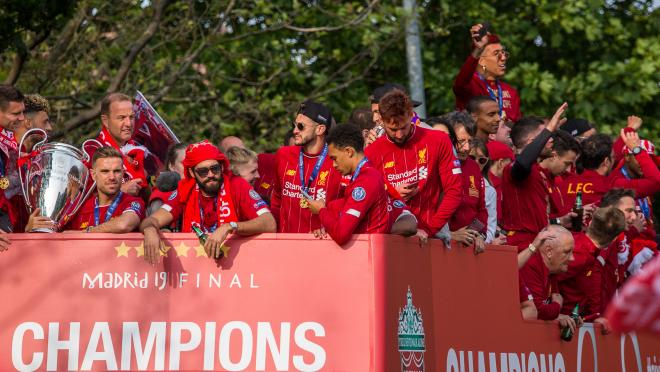 Liverpool Football Club Celebrated Their Champions League Victory