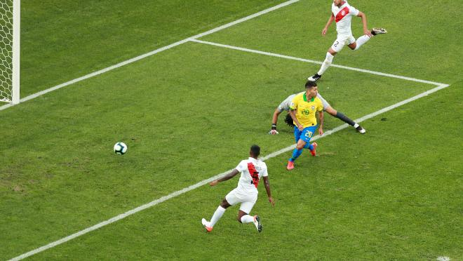 Roberto Firmino Goal vs Peru