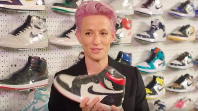 Megan Rapinoe Nike shoes