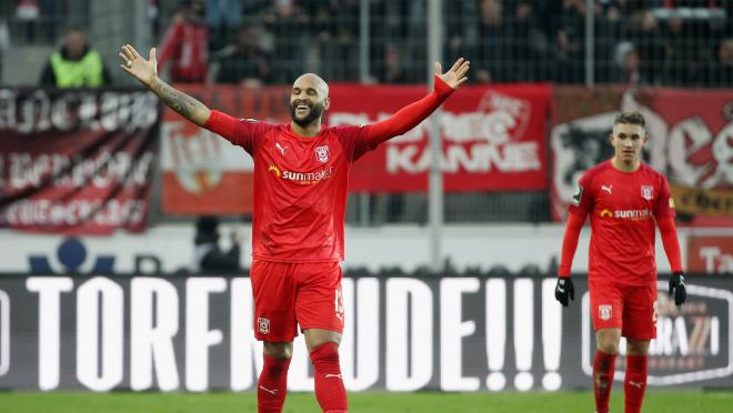 Terrence Boyd Goal vs Duisburg