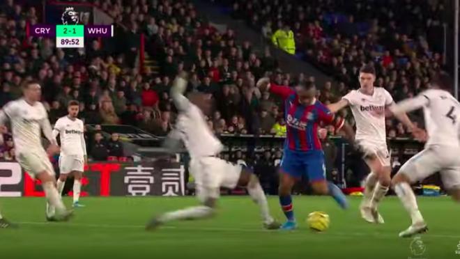 Jordan Ayew Goal vs West Ham