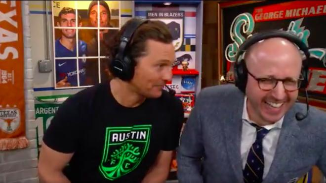 Matthew McConaughey Men in Blazers