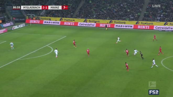 Florian Neuhaus Goal vs Mainz