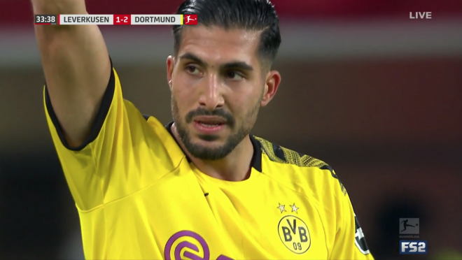 Emre Can Goal vs Leverkusen