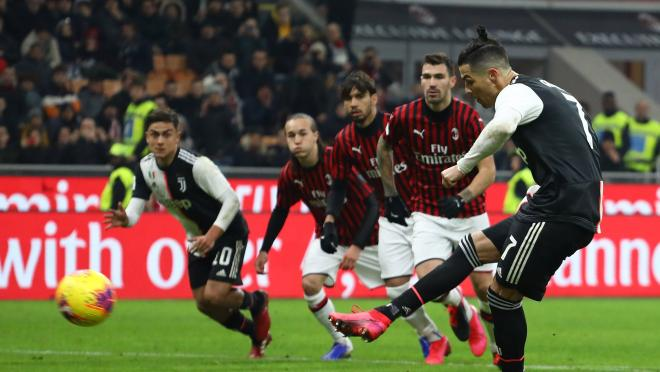 Cristiano Ronaldo Goal vs Milan Coppa Italia First Leg
