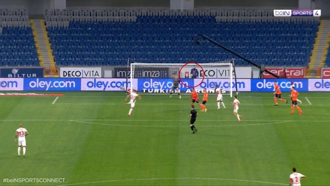 Lukas Podolski Goal vs Basaksehir