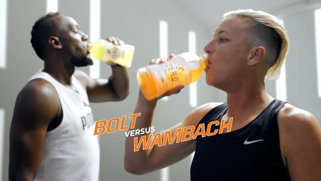 Wambach vs. Bolt
