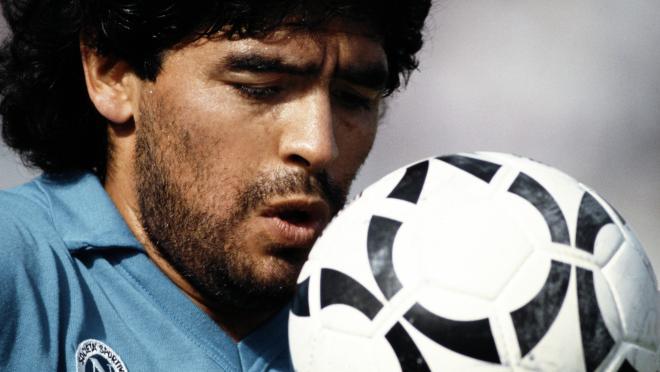 Diego Maradona Napoli goals