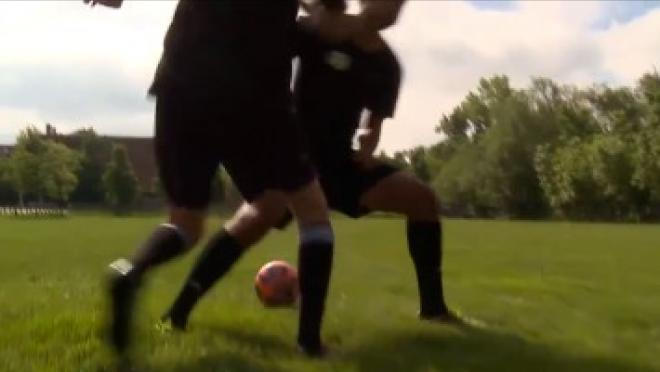 Cut Catch Soccer Skills Training Video