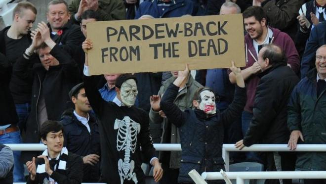 Pardew Back From The Dead