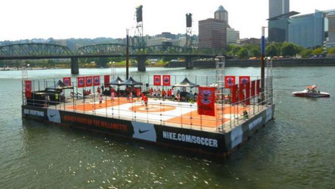 Nike Soccer Barge