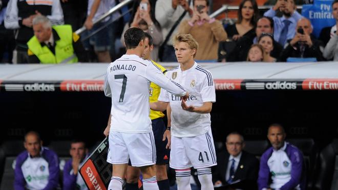 Martin Odegaard showed flashes of his brilliance once again.