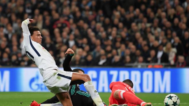 Watch Dele Alli goal vs Real Madrid