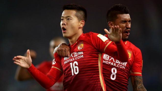 China's soccer spending