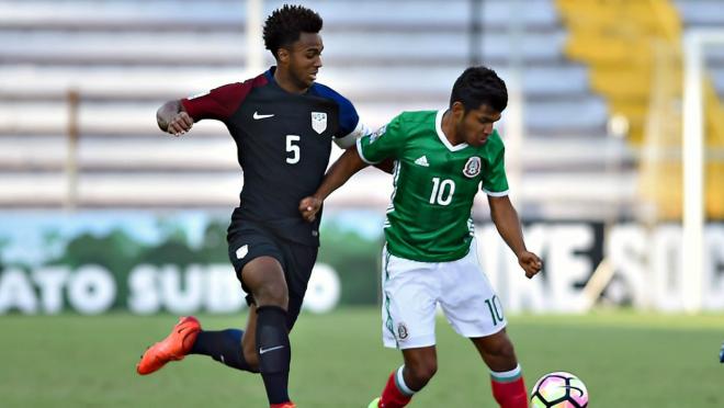US U-20s defeat Mexico 1-0