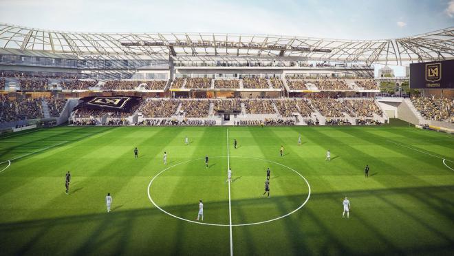 LAFC Banc Of California Stadium