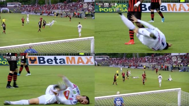 Danko Lazovic dive and fake injury