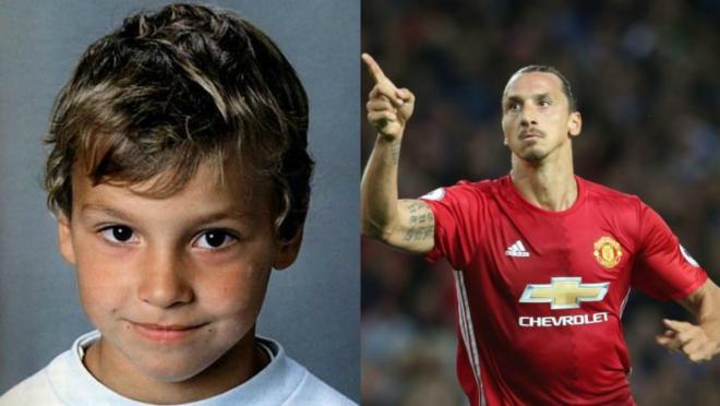 Zlatan Ibrahimovic childhood photo