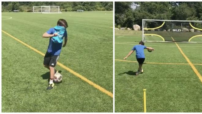 Blindfolded Soccer Drills