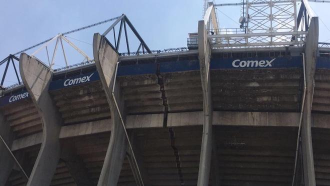Mexico City Earthquake Estadio Azteca
