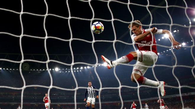 Nacho Monreal save is miraculous Arsenal vs West Brom
