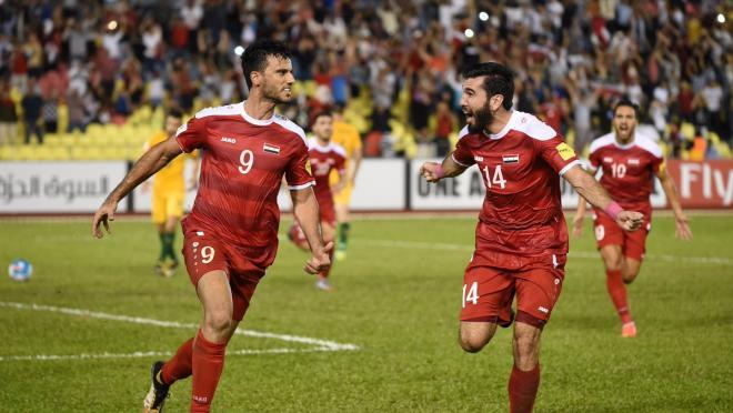 Australia vs Syria World Cup qualifying playoff
