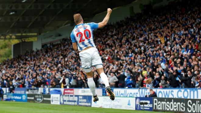 Huddersfield Fans Go Wild