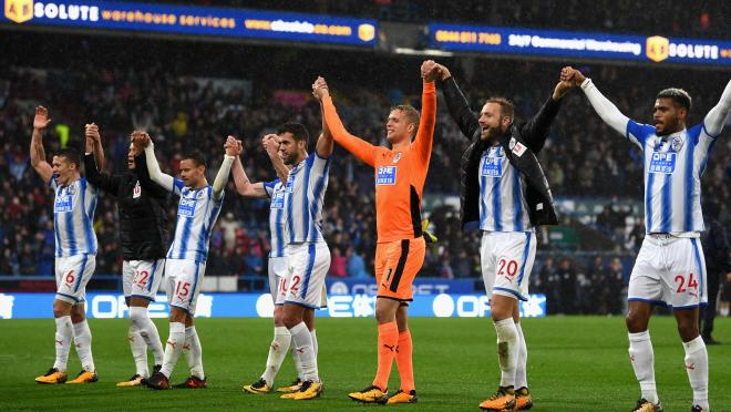 Huddersfield Beat Manchester United with an epic block