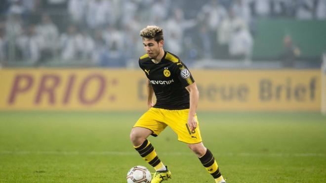 Dortmund training goal