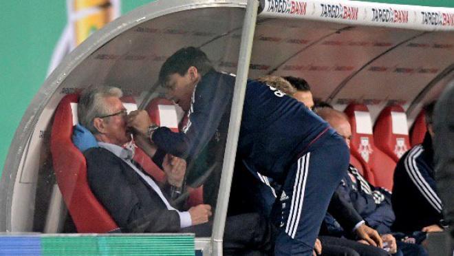 Jupp Heynckes nose bleed