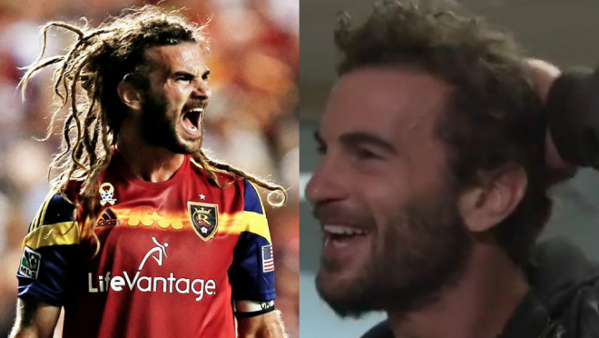 Kyle Beckerman hair