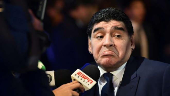 Diego Maradona Argentina coach
