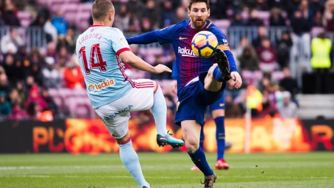 Messi Barcelona Celta Vigo