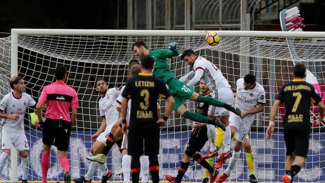 Gennaro Gattuso reaction to Alberto Brignoli