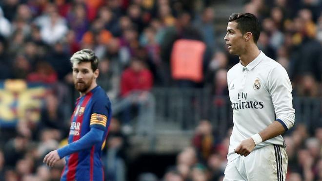 El Clasico top scorers - Messi and Ronaldo