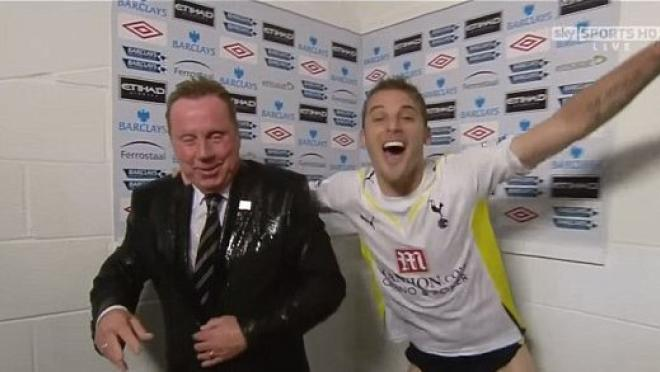 David Bentley Soaks Harry Redknapp