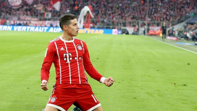 James Rodriguez Bayern Munich transfer fee