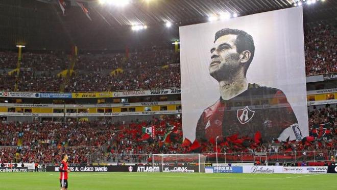 Rafa Marquez final Atlas home game