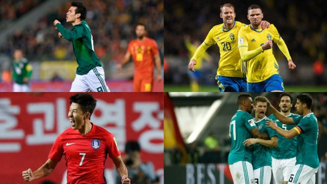 Which World Cup group is the group of death