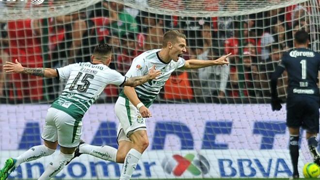 Santos win Liga MX