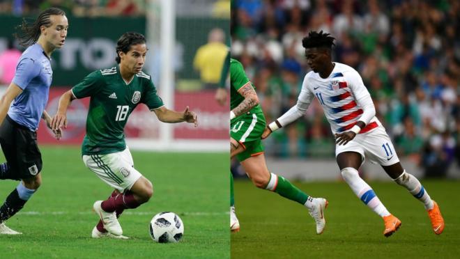 USMNT vs Mexico 2018